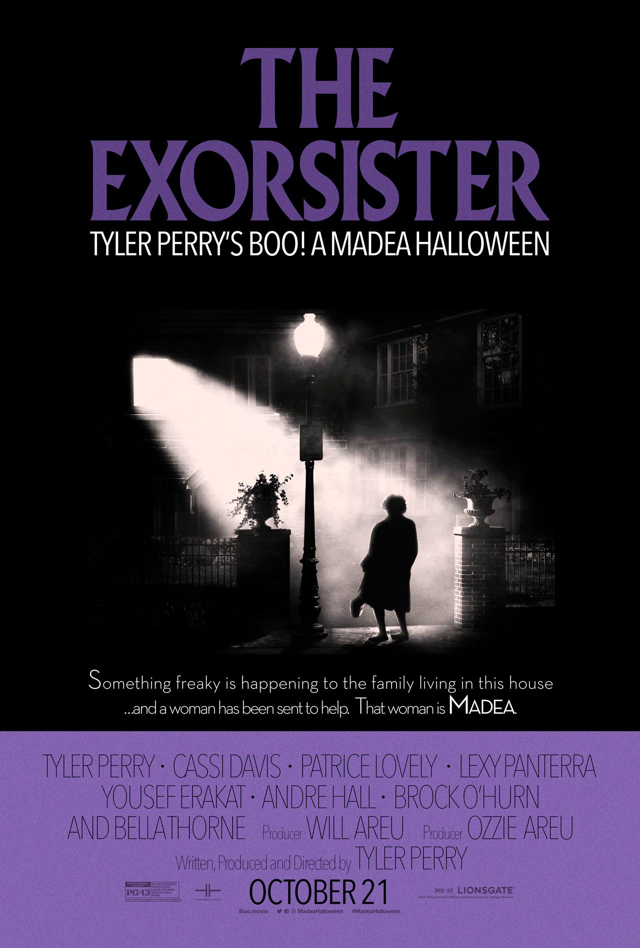 boo a madea halloween exorcist poster