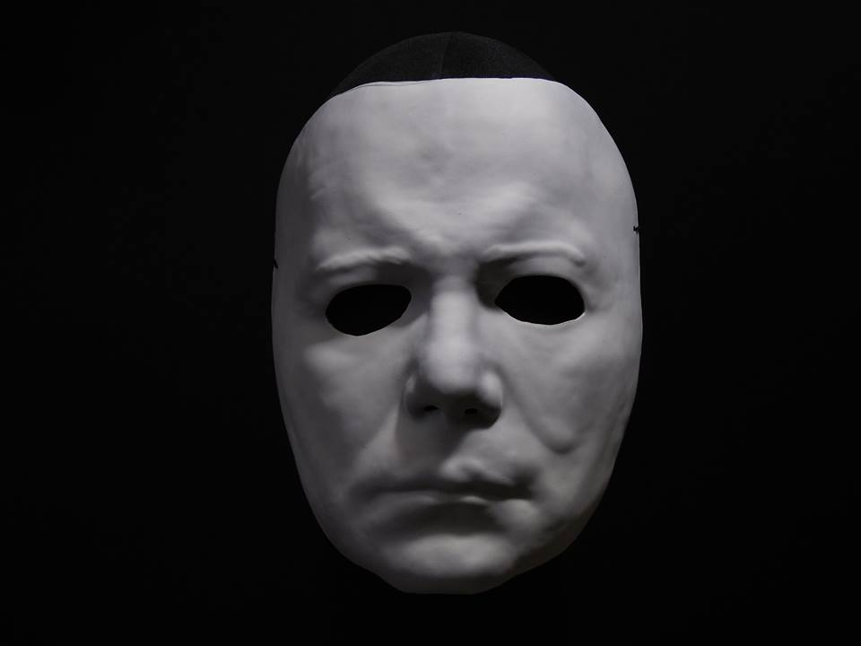 halloween ii michael myers vacuform mask by trick or treat studios - Halloween Myers Mask
