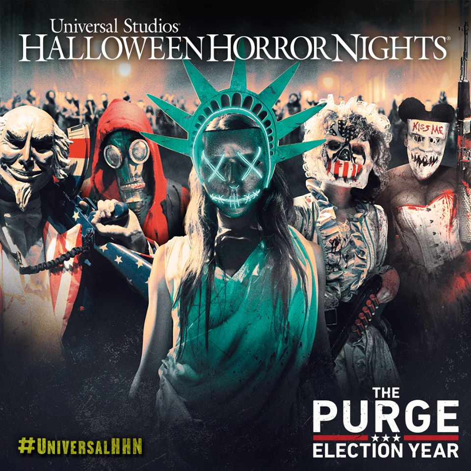 the purge at universal halloween horror nights hollywood - Universal Halloween Night