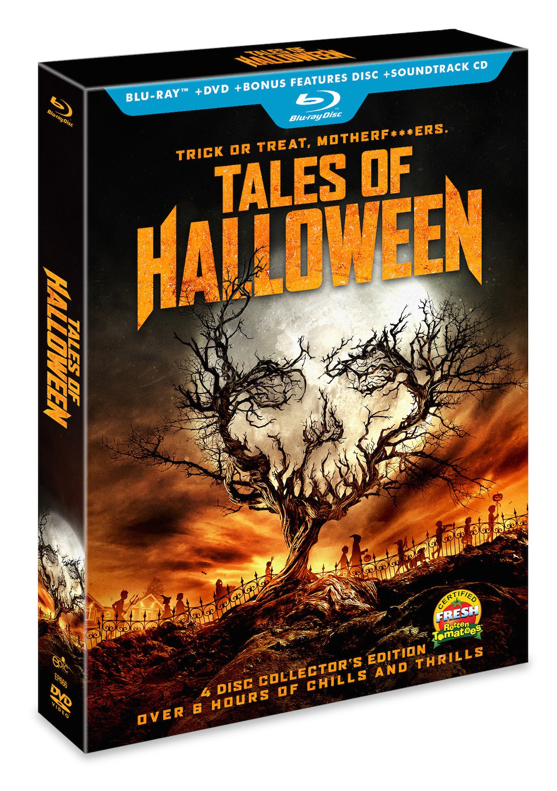 tales of halloween' 4-disc blu-ray set announced! | halloween daily news