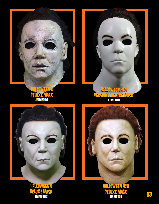 michael myers 2017 h6 8 masks from trick or treat studios - Michael Myers 2017