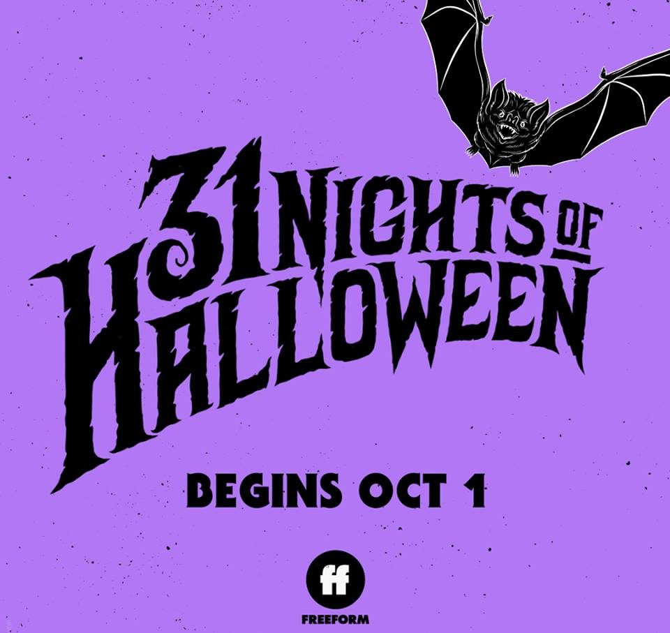 Freeform Halloween 2020 25th Anniversary Freeform Announces 31 Nights of Halloween 2019 Expansion