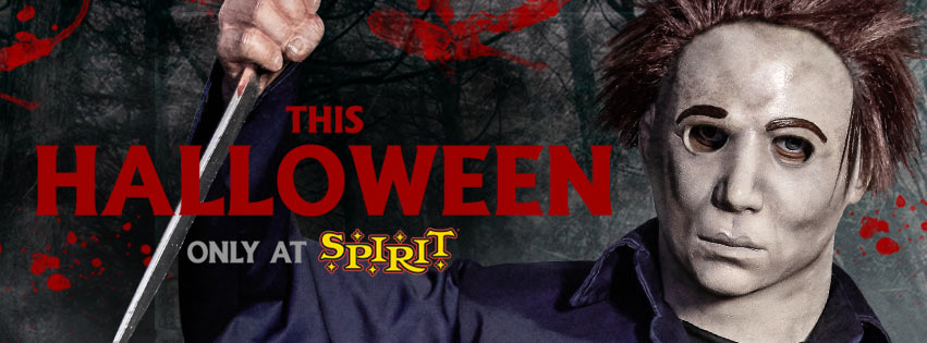 spirit halloween michael myers animatronic prop