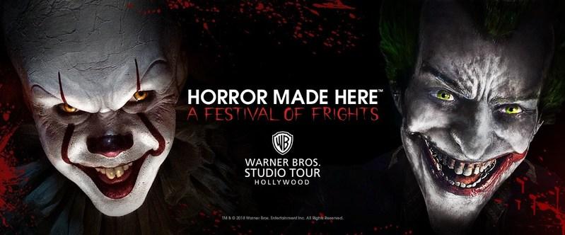 Wb Backlot Tour Halloween 2020 Pennywise and Joker Headline Warner Bros.' Horror Made Here