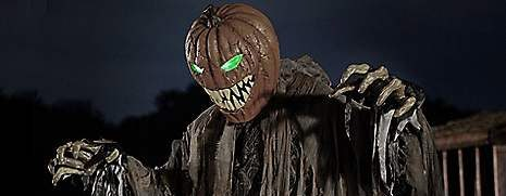 pumpkin patch prowler 6ft animatronic from spirit halloween