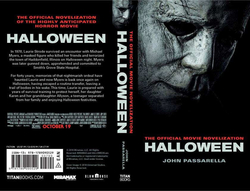 halloween 2018 official novelization