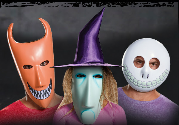 the nightmare before christmas lock shock and barrel costumes decorations masks