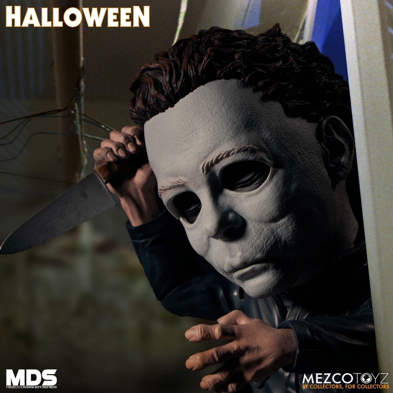 Mezco Michael Myers Halloween Figure 2020 Mezco Releasing 'Halloween' Michael Myers Designer Series Figure