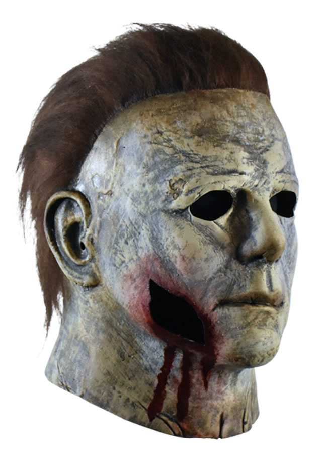 Halloween 2020 Michael Myers Mask Bloody Edition Review Trick or Treat Studios Reveals 'Halloween' 2018 Michael Myers