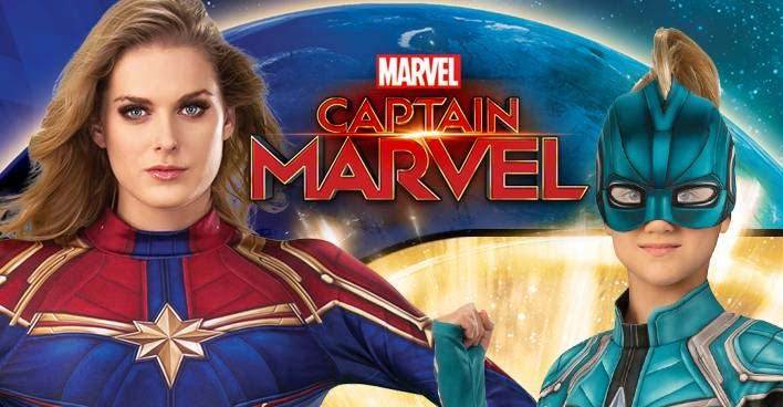 Captain Marvel Costume Collection Now Available Halloween Daily News 4.8 out of 5 stars 99. captain marvel costume collection now