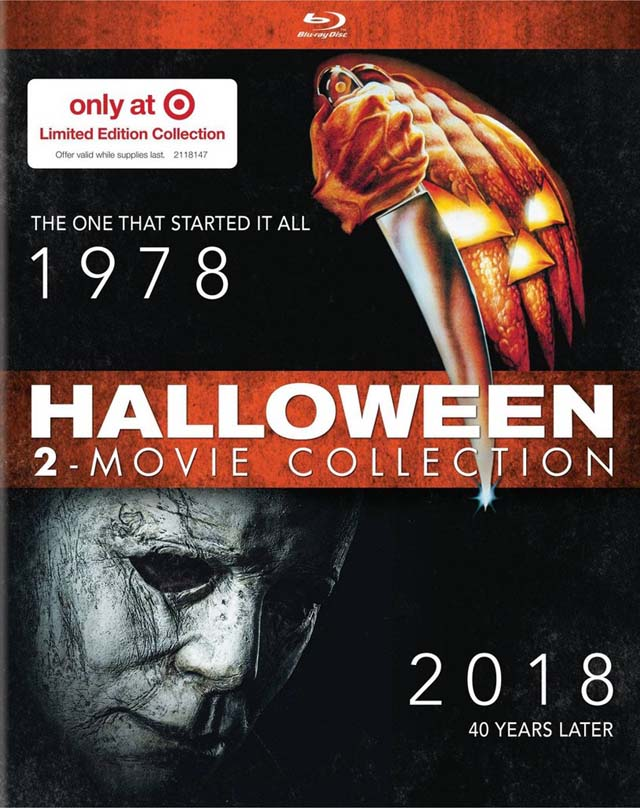 Halloween 1978 And 2020 Feature Halloween' 1978/2018 Blu ray Set Coming to Target | Halloween