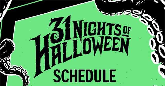 31 Days Of Halloween Amc 2020 Freeform's 31 Nights of Halloween 2020 Schedule Announced