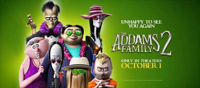 The Addams Family 2' Trailer Takes Spooky on Vacation - Halloween Daily News